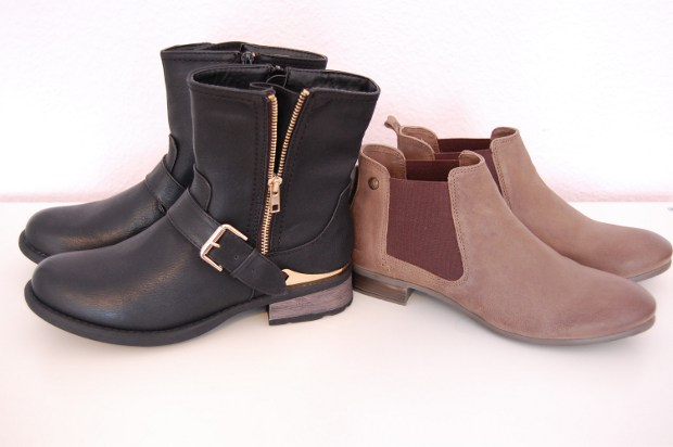 Ankle Boots im Herbst