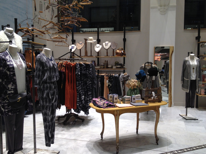 Anthropologie im BHV le Marais in Paris