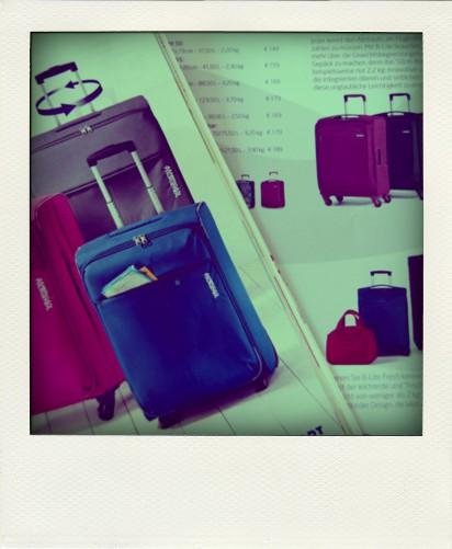 Auf der Suche nach einem Koffer