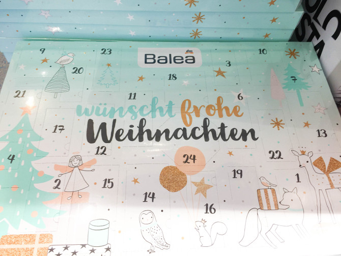 Balea Adventskalender 2017