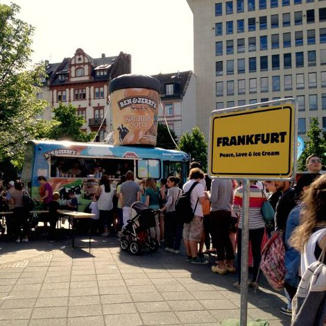 Ben and Jerry's Tour in Frankfurt