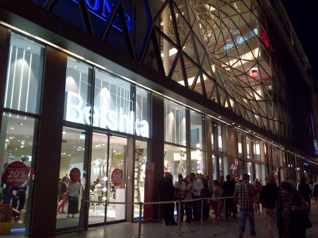 Bershka im MyZeil in Frankfurt