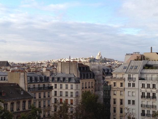 Blick auf Sacre Coeur in Paris