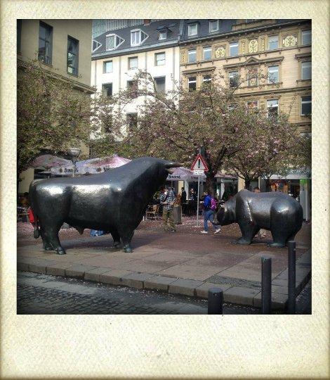 Bull&Bear an der Börse in Frankfurt