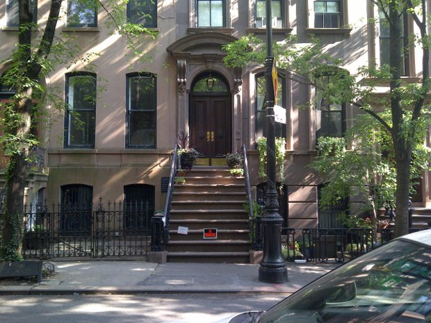 Carries New Yorker Haus in Sex and the City