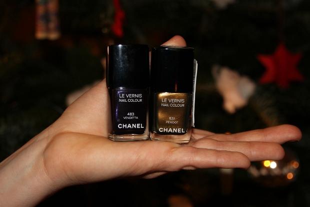 Chanel Nagellacke Peridot und Vendetta