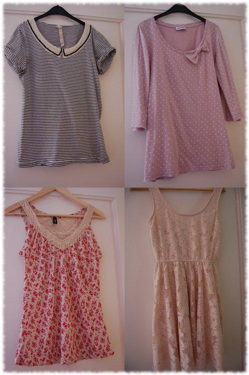 Collage verschiedene Sommer-Trends 2011