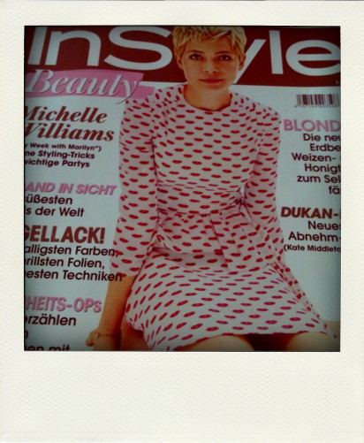 Cover der Instyle Beauty mit Michelle Williams