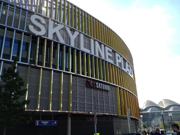 Das neue Einkaufszentrum Skyline Plaza in Frankfurt