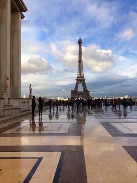 Der perfekte Tag in Paris - Blick auf den Eiffelturm