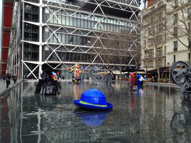 Der perfekte Tag in Paris - Centre Pompidou und Brunnen von Niki de Saint Phalle