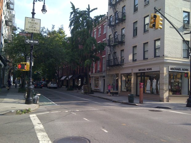 Die Bleecker Street in New York