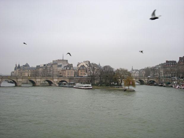 Die Seine in Paris