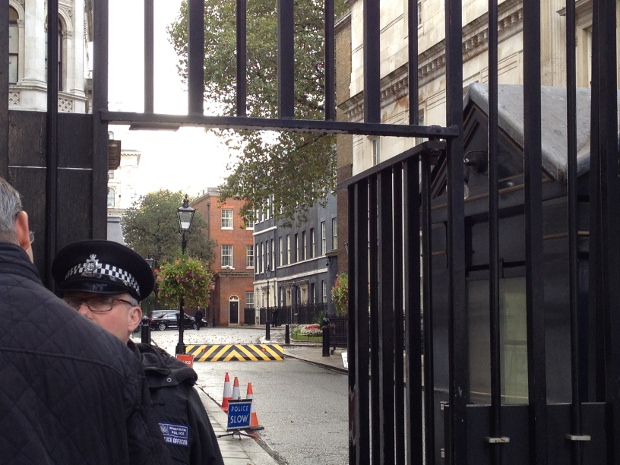Downing Street 10 in London