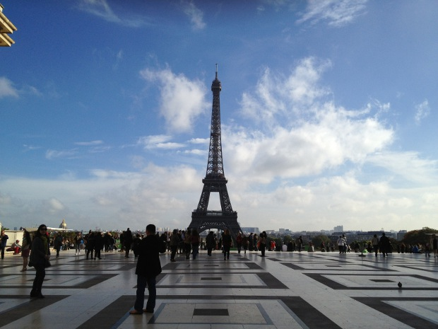 Eiffelturm in Paris bei Tag