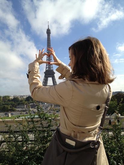 Mit der Hillier Hobo von MbMJ in Paris