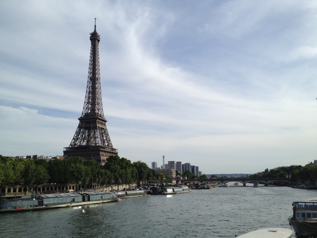 Eiffelturm und Seine
