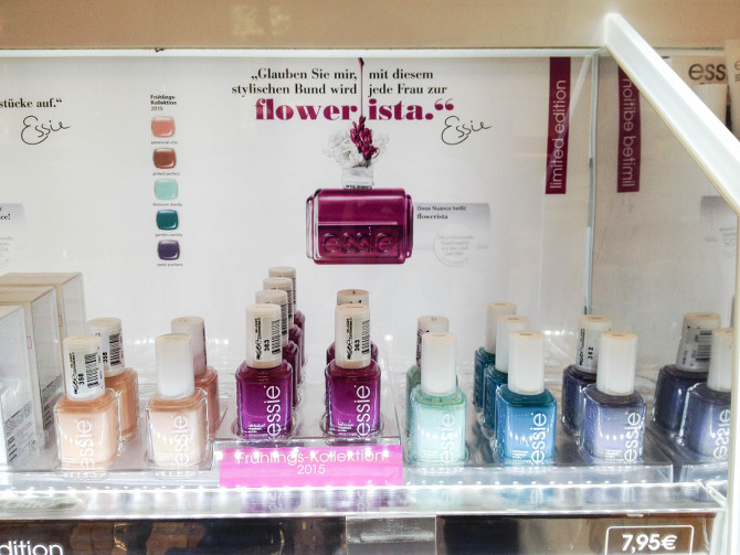 Essie Flowerista Spring Collection