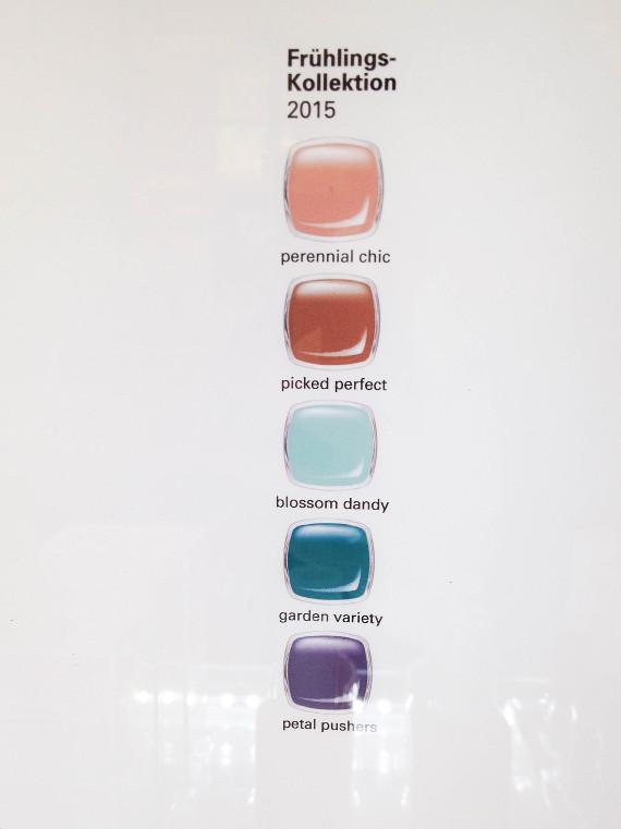 Essie Frühjahrs Kollektion 2015
