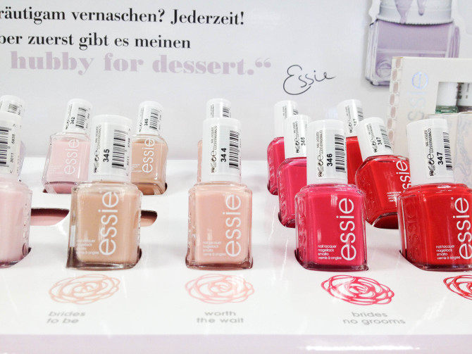 Essie Hubby For Dessert Kollektion Lacke im Detail