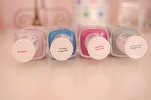 Essie Spring Collection meine Nagellacke