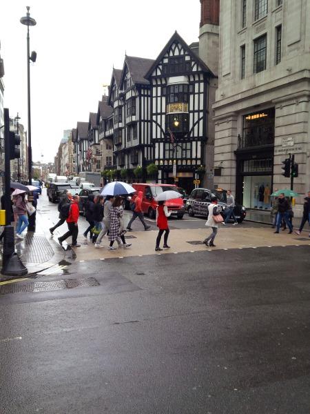 Fachwerkhaus bei der Regent Street in London