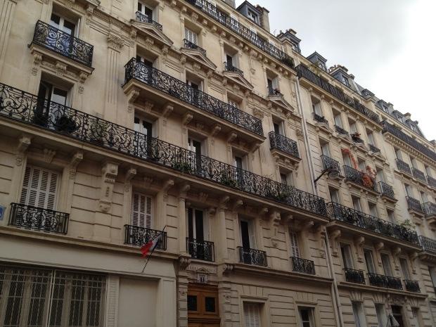 Hübsche alte Fassaden in Paris