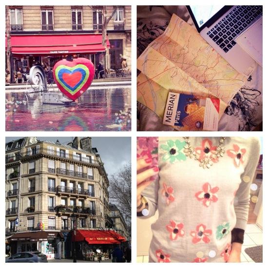 Fotocollage Paris und Geburtstag 2014