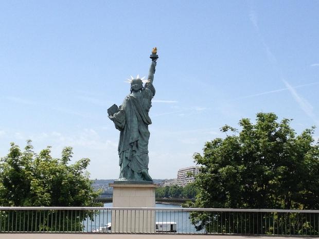 Freiheitsstatue in Paris