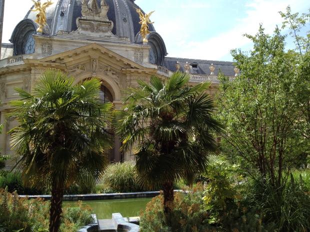 Garten des Petit Palais in Paris