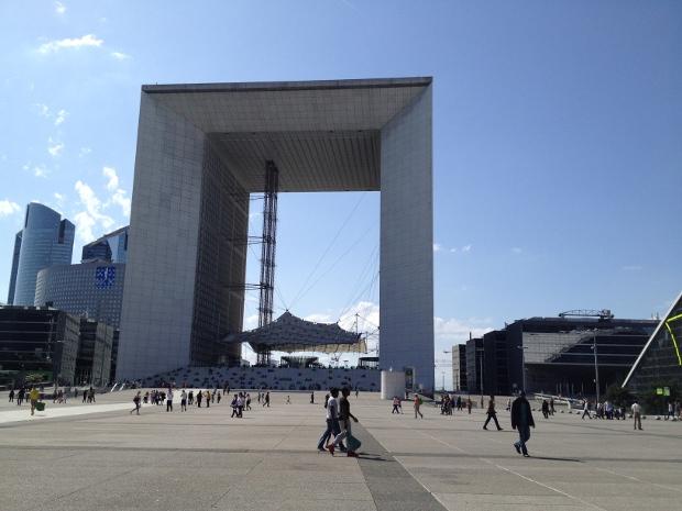 Grand Arche in La Défense Paris