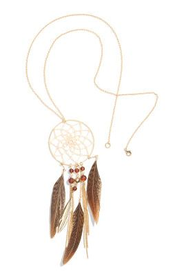 H&M Federkette im Ethno-/Indianer-Stil