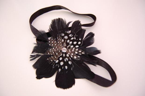 Haarband mit Feder