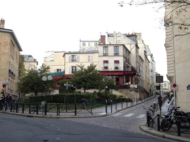 Hübsche Strassen in Paris