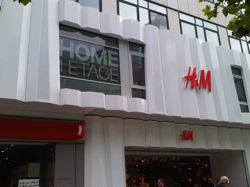 H m home in frankfurt fashiongefl ster Fashion for home frankfurt