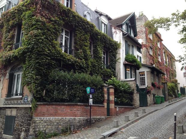 Impressionen aus dem Montmartre in Paris