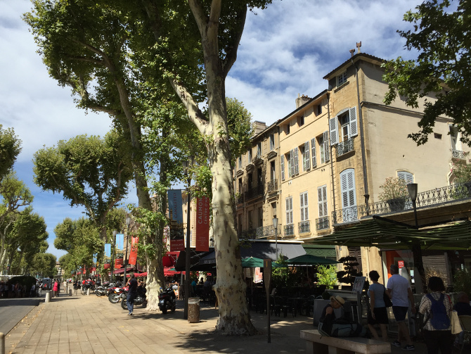 Innenstadt von Aix-en-Provence