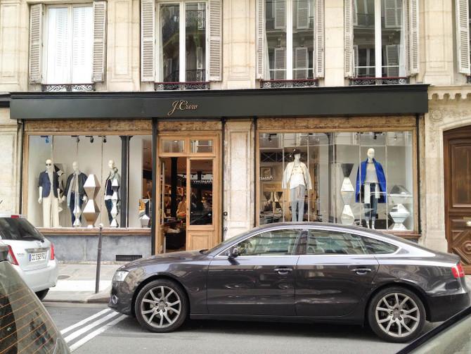 J.Crew Neueröffnung in Paris
