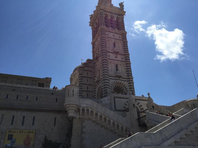 Kathedrale Notre-Dame de la Garde in Marseille
