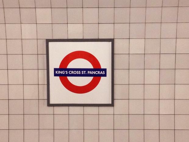 Kingscross St. Pancras in London