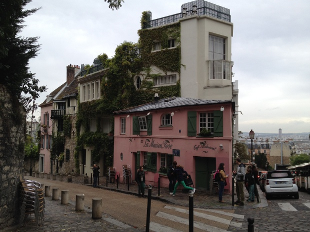 La Maison Rose in Paris Montmartre
