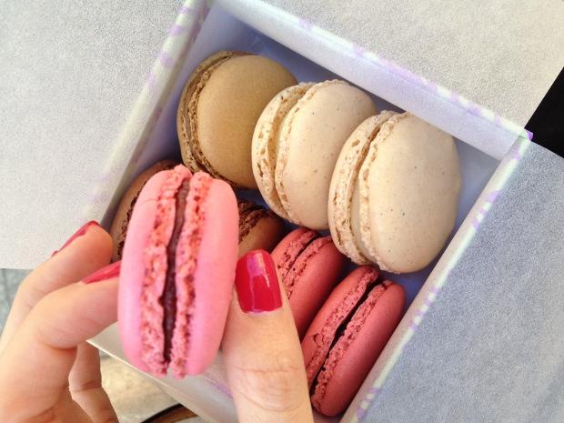 Macarons von Ladurée in Paris