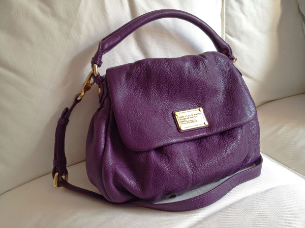 Marc by Marc Jacobs Lil' Ukita in pansy purple
