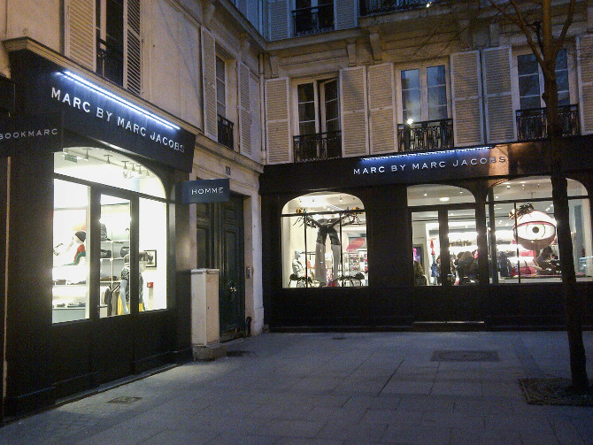 Marc by Marc Jacobs Store in Paris