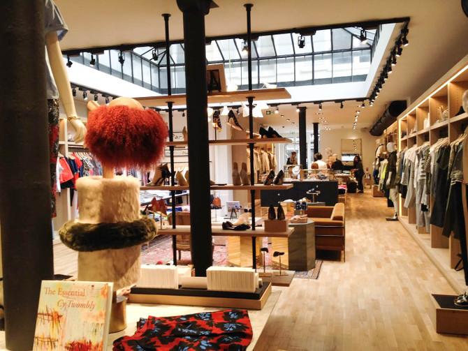 Einblick in das neu eröffnete J.Crew Geschäft in Paris