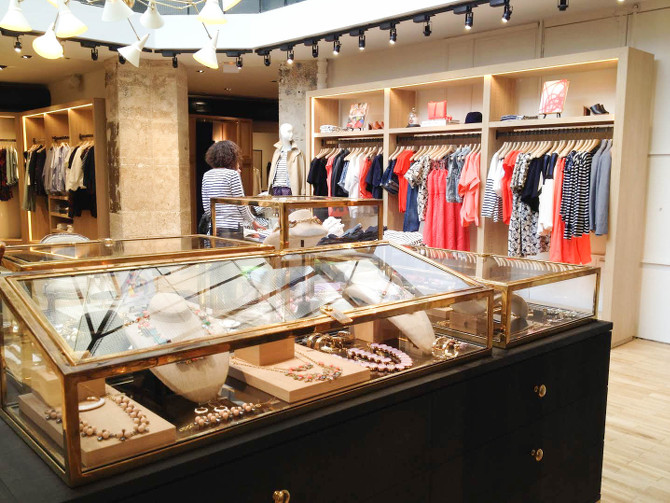 J.Crew Sommerkollektion im neuen J.Crew in Paris