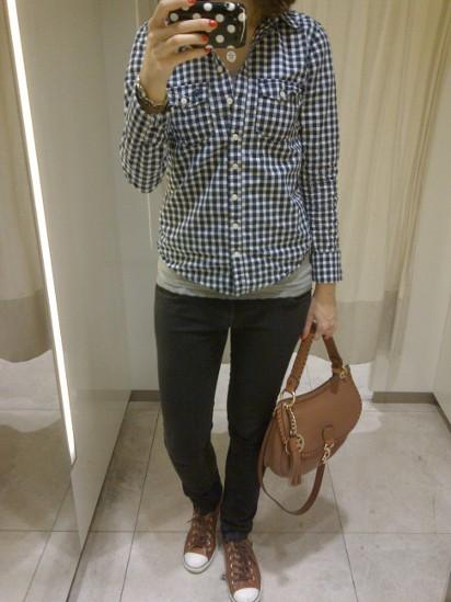 Outfit Karomend und Parka 2