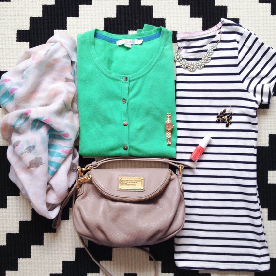 Outfit - Streifen und Farbe
