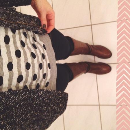 Outfit - Streifen und Punkte von J.Crew