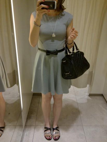 Outfitbild grau, silber und schwarz
